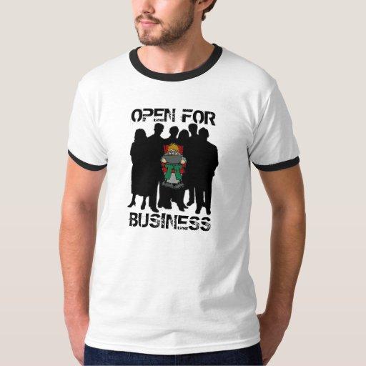 Ábrase para el negocio remera