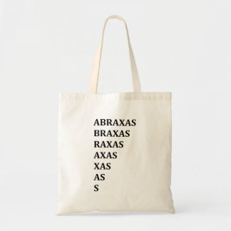 Abraxas Protection Spell Tote Bag