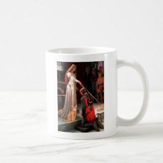 Abrazo - abisinio rojo taza