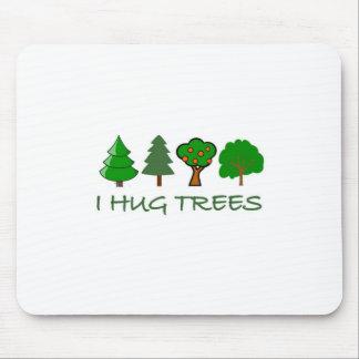 Abrazo árboles tapetes de ratón
