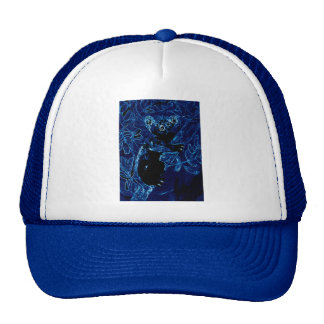 Abrazo azul del árbol de la koala gorros
