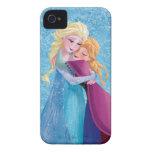 Abrazo de Ana y de Elsa iPhone 4 Case-Mate Cobertura