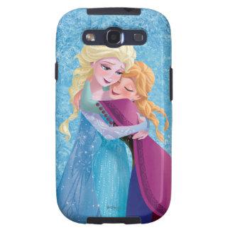 Abrazo de Ana y de Elsa Galaxy S3 Fundas