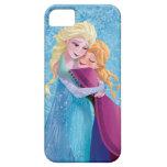 Abrazo de Ana y de Elsa iPhone 5 Carcasas