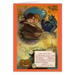 Abrazo de Halloween Felicitacion