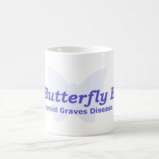 ABRAZO de la tiroides la taza del efecto mariposa