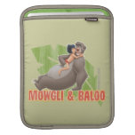 Abrazo de Mowgli y de Baloo del libro de la selva Manga De iPad