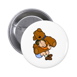 Abrazo de oso gigante de peluche pins