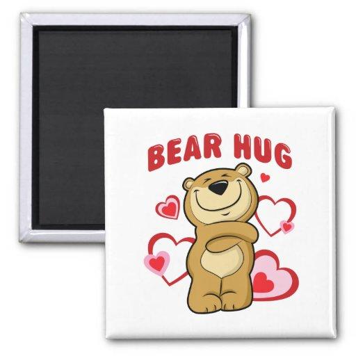 Abrazo de oso iman de frigorífico
