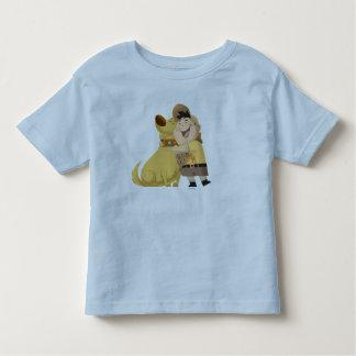 ¡Abrazo de Russell cavado - Pixar PARA ARRIBA! Playera De Bebé