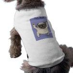 Abrazo del barro amasado camisetas mascota
