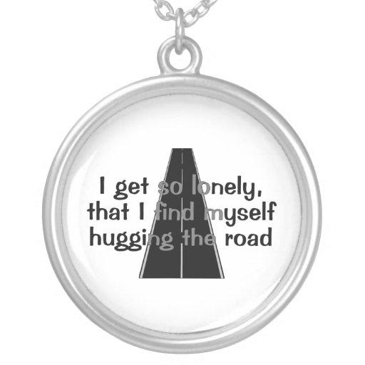 Abrazo del camino colgante redondo