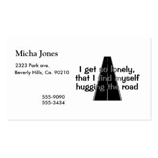 Abrazo del camino plantillas de tarjetas de visita