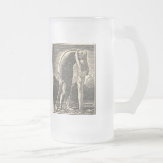 Abrazo del desierto taza de cristal