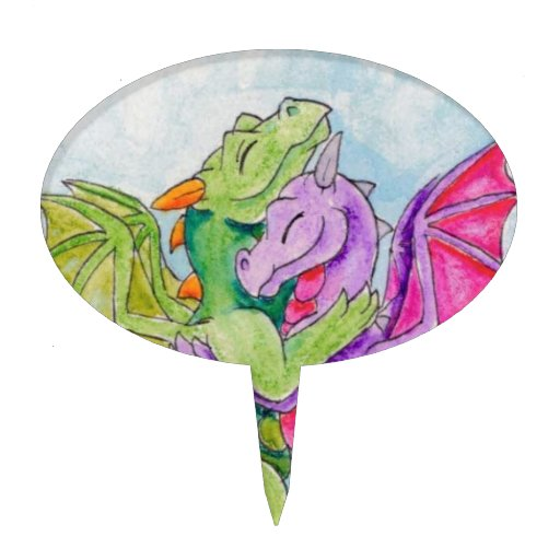 Abrazo del dragón figuras para tartas
