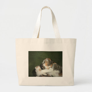 Abrazo del gatito bolsas