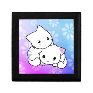 Abrazo del gatito caja de recuerdo