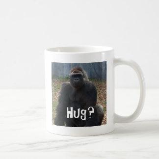 Abrazo del gorila taza