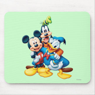 Abrazo del grupo de Mickey y de los amigos el | Alfombrilla De Ratones