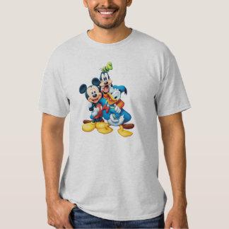 Abrazo del grupo de Mickey y de los amigos el | Remera