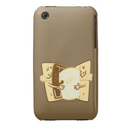 Abrazo del grupo iPhone 3 Case-Mate protector
