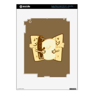 Abrazo del grupo iPad 3 skin