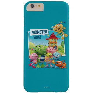 ¡Abrazo del monstruo! Funda Barely There iPhone 6 Plus