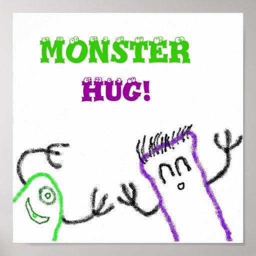 Abrazo del monstruo posters