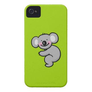 Abrazo del oso de koala iPhone 4 cárcasa