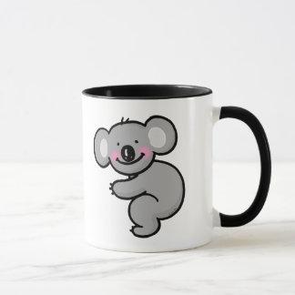 Abrazo del oso de koala taza