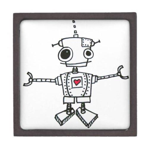 Abrazo del robot cajas de regalo de calidad