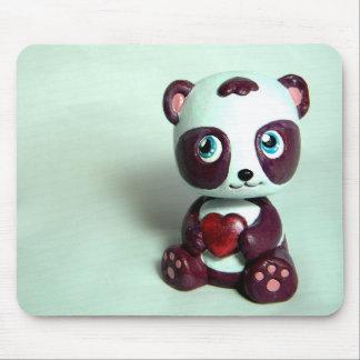 Abrazo II de la panda Mouse Pad