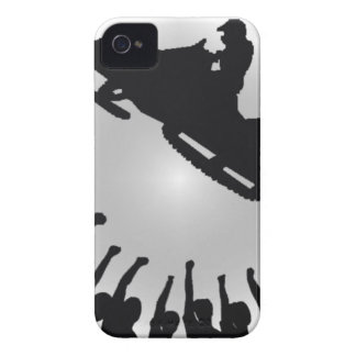 ABRAZO MÓVIL DE LA NIEVE iPhone 4 Case-Mate CARCASA