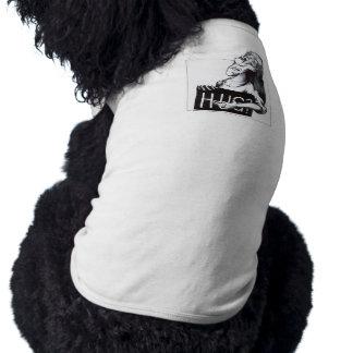 ¿Abrazo? Camisetas De Perro