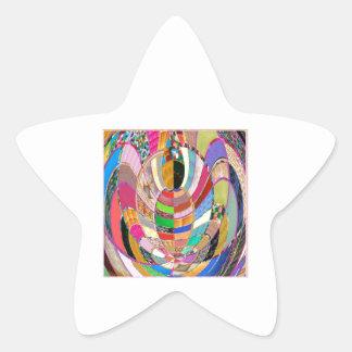 ABRAZO   - una presentación artística Colcomanias Forma De Estrella