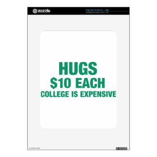 Abrazos $10 por cada uno - la universidad es skin para el iPad