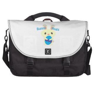 Abrazos de conejito bolsas para ordenador
