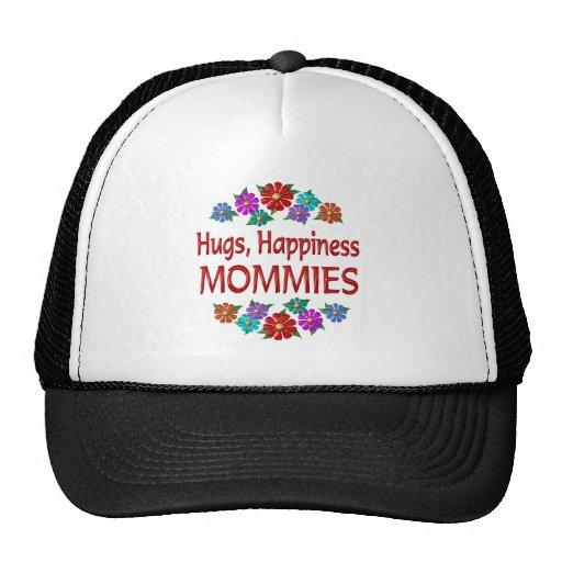 Abrazos de la mamá gorra