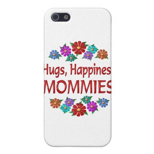 Abrazos de la mamá iPhone 5 fundas