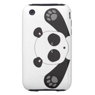 Abrazos de la panda tough iPhone 3 coberturas