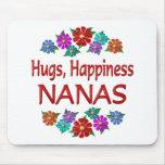 Abrazos de Nana Alfombrilla De Ratón