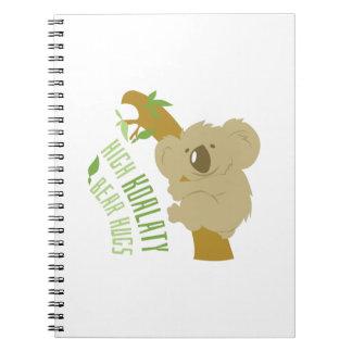Abrazos de oso libros de apuntes con espiral