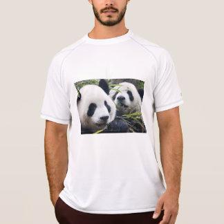 Abrazos de oso de panda poleras