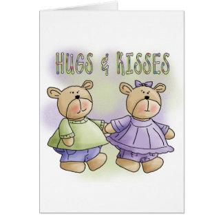 Abrazos de oso de peluche y camisetas y regalos de tarjeta de felicitación