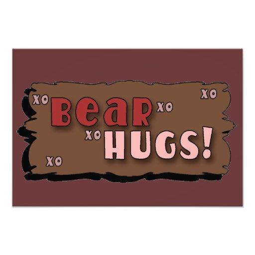 Abrazos de oso fotografía