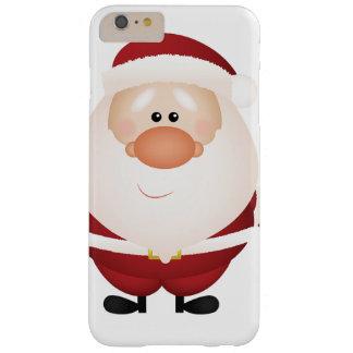 Abrazos de Papá Noel Funda De iPhone 6 Plus Barely There