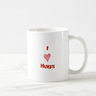 abrazos del corazón taza de café