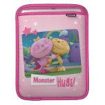 ¡Abrazos del monstruo! Fundas Para iPads