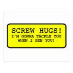 Abrazos del tornillo postal