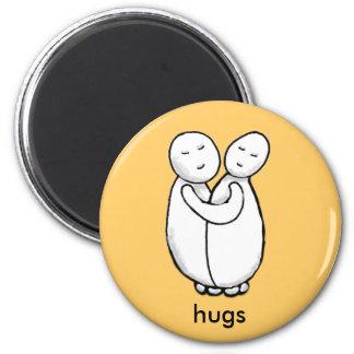 abrazos imán para frigorifico